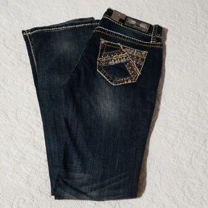 Grace in LA Jeans - NWT GRACE in LA Fancy Low Rise Boot Jean's 28